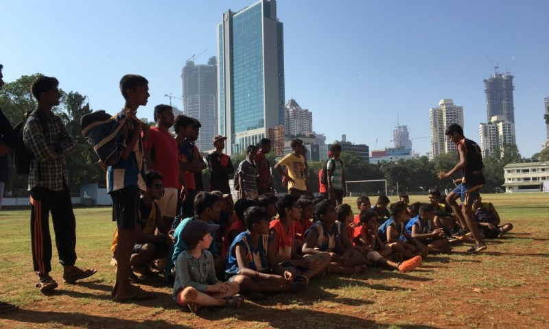 #PlayforGlobalGoals – Australian Rules Football in Mumbai