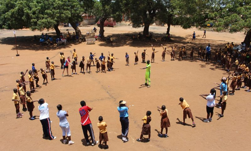 #PlayforGlobalGoals – Netball Development Trust