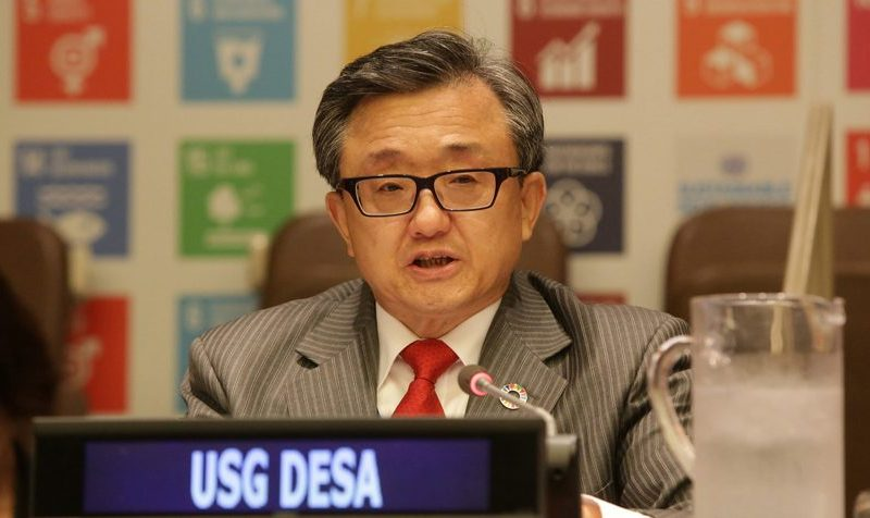 Leveraging sport for sustainable development at the United Nations