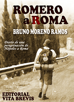 Portada de Romero a Roma, un libro de Bruno Moreno