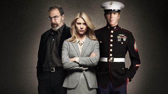 Cartel promocional Homeland - Temporada 1