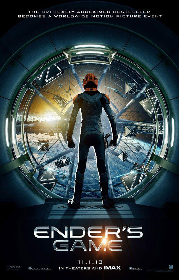 Cartel promocional de El juego de Ender