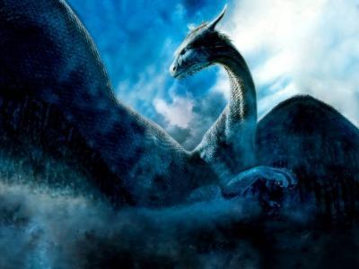 Saphira, dragona azul