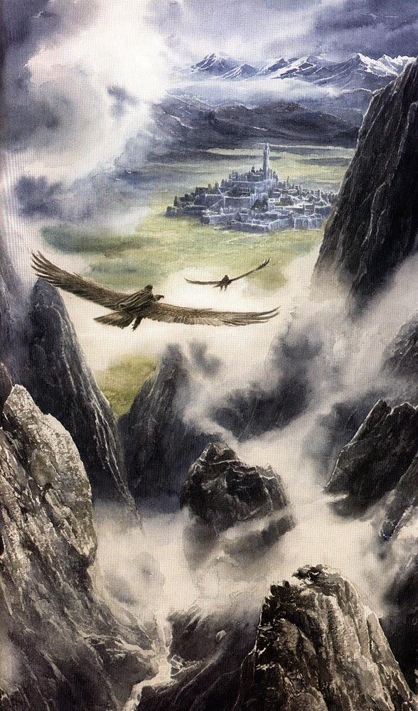 Los Hijos de Húrin, Gondolin y las Águilas