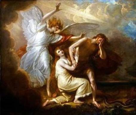 Expulsión de Adán y Eva del Paraíso (Miguel Ángel)