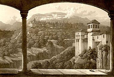 Ilustración de La Alhambra