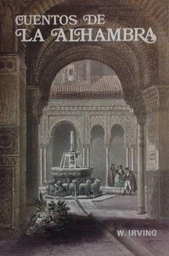 Portada de Cuentos de la Alhambra, de Washington Irving