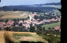 Blick auf den Mühlenberg ca 1955