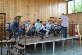 Musikverein unter der Leitung von Christian Rau