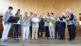 Kirchenchor Aschbach unter der Leitung von Andrea Buchheit