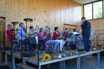Der Musikverein unter der Leitung von Christian Rau