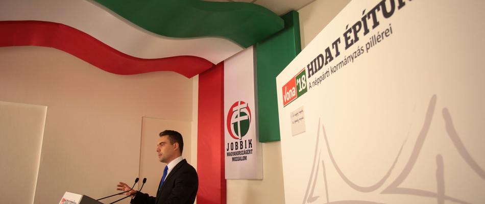 Vona gab eine weitere Erklärung ab: Mit der Jobbik wird es elektronische Wahlen geben!