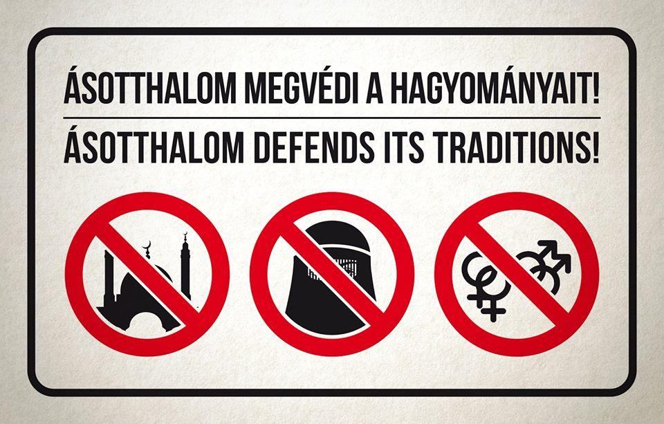 Die Anti-Islam-Anordung von Ásotthalom wurde für verfassungswidrig erklärt