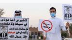 """""""Karikaturen nicht aufgeben"""": Muslimische Länder rufen nach den Bemerkungen von Emmanuel Macron zum Boykott französischer Produkte auf"""
