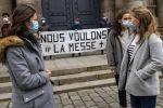 Frankreich: Gläubige fordern Erlaubnis für Messfeiern