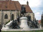 Klausenburg (Siebenbürgen): Die König Matthias Corvinus Statue