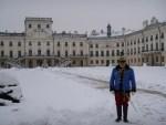 HU: Schloss Esterházy im Schneekleid (Video)