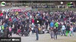 Querdenken-Demo in Stuttgart: Tausende gehen gegen Lockdown auf die Straße