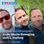 FPÖ-Generalsekretär: Fittes Immunsystem, statt Impfcocktail