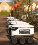 """Großbritannien ersetzt seine Lieferfahrer durch Roboter. Die """"kontaktlose Gesellschaft"""" ist auf dem Weg!"""