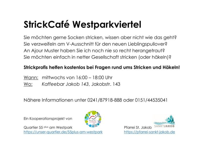Text für Strickcafe