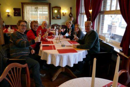 Das Team im Cafe Niederort