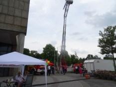 Foto vom Leiterwagen des Löschzuges Schmalbroich der Freiwilligen Feuerwehr Kempen
