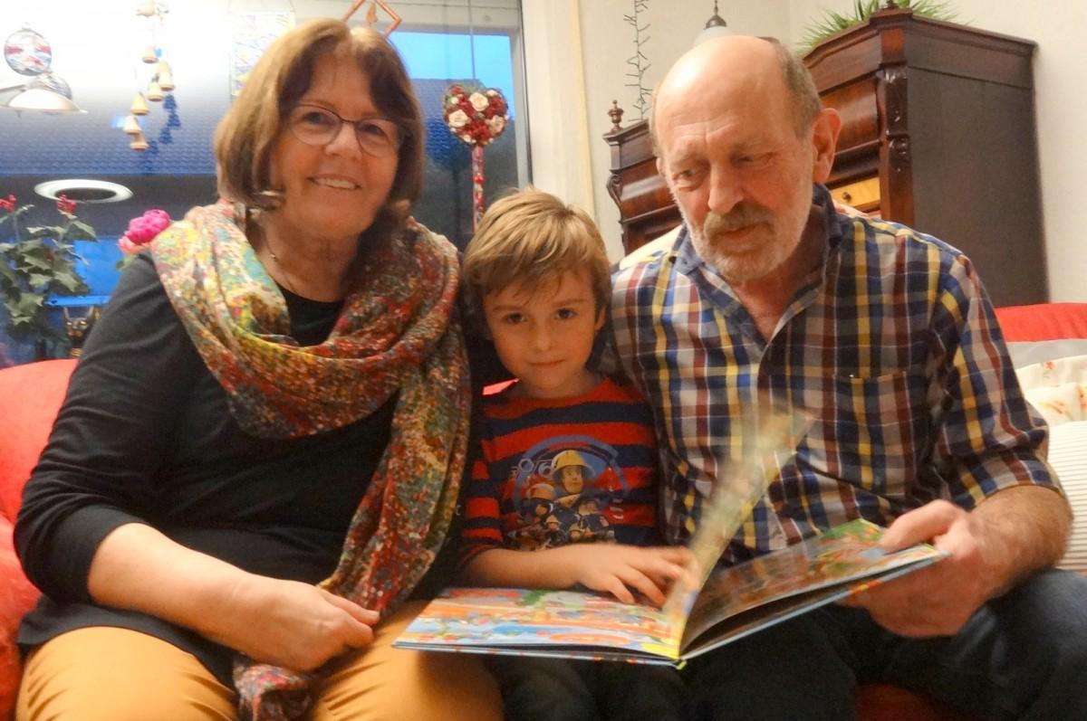 Foto Adventsnachmittag bei Anni Rosenfeld und Johannes Fütterer mit Rafael