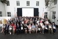 Gruppenfoto: 85 Preisträger