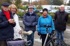 Gruppenfoto Fahrradgruppe