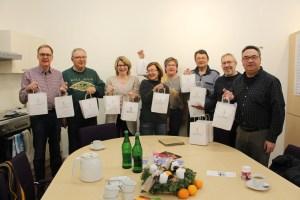 Gruppenfoto Bürgerverein füllt die Stiefel