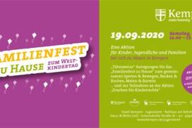Plakat Familienfest
