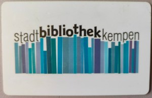 Foto Bibliotheksausweis