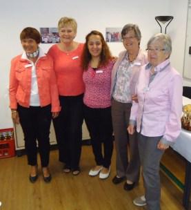 Bild: einige Damen des Teams
