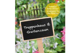 Bild Treppenhaus + Gartenzaun