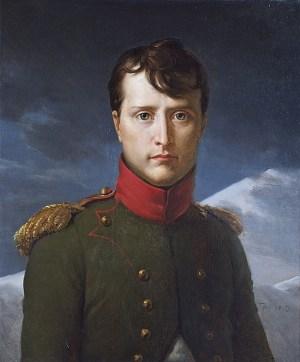 Bild des Jungen Napoleon Bonaparte