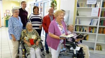 eine Leseecke auch füf Menschen mit behinderungen