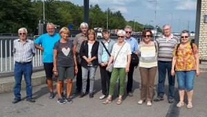 Gruppenbild der Wandergruppe