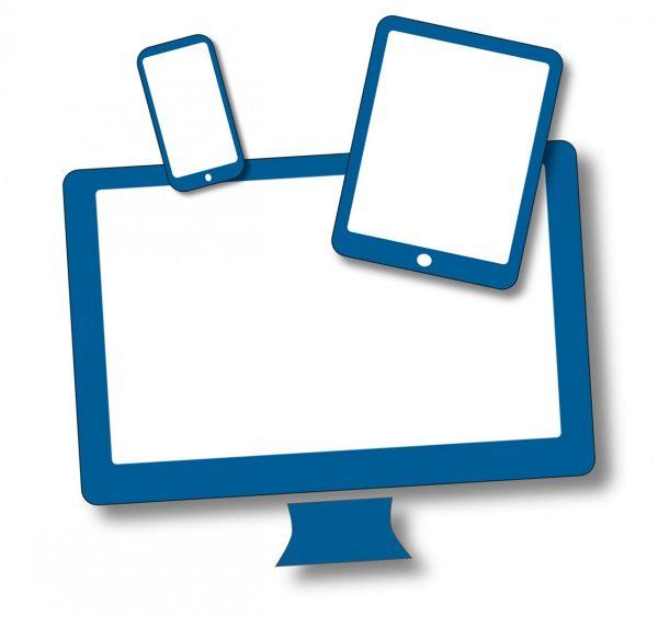 PC, Tablet und Smartphone