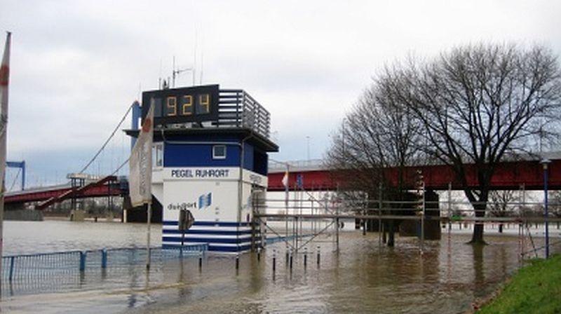 Hochwasser 2018, Bild 1,