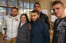 Renata Radu begleitet die Flüchtlinge