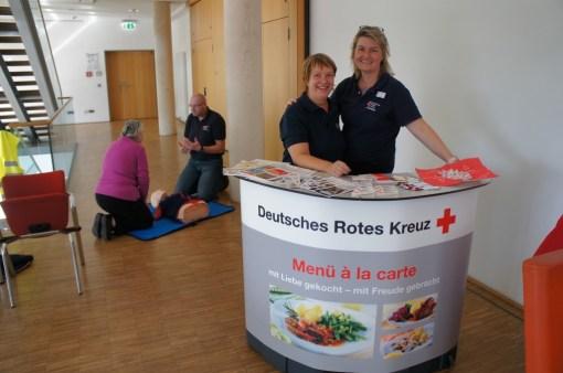 Erste Hilfe und Menüs vom Deutsches Rotes Kreuz