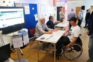 Hartmut und Inge vom Seniorenportal im Gespräch