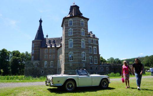 Schloss Merode - tolle Kulisse für ein stilvolles Oldtimer-Event