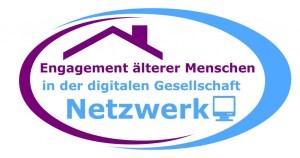 Logo Netzwerk Engagement älterer Menschen in der digitalen Gesellschaft