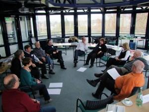 Erster Workshoptag in Bad Honnef 2013