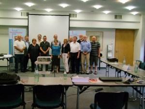 Gruppenfoto am letzten Präsenztag in Bad Honnef: Acht Projekte gehen in den nächsten Wochen an den Start.