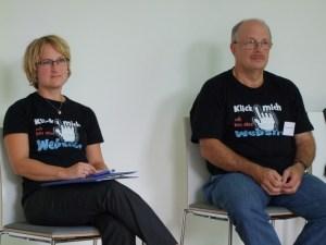 Britta Fuchs und Hans-Jürgen Knabben