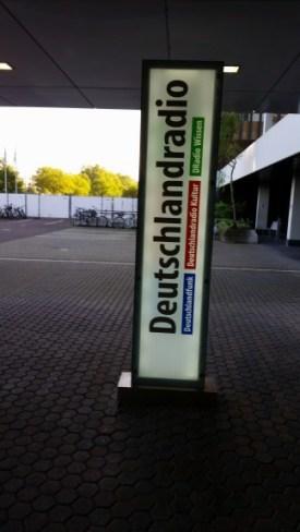 Besuch beim Deutschlandfunk