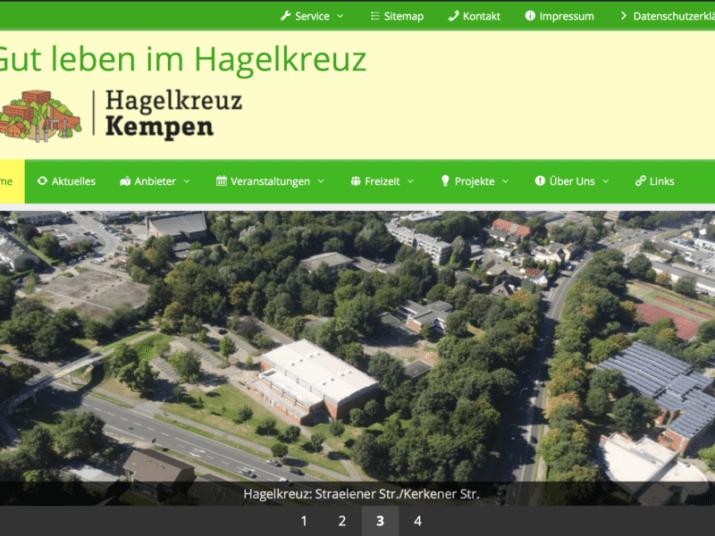 Quartiers-Webseite Hagelkreuz